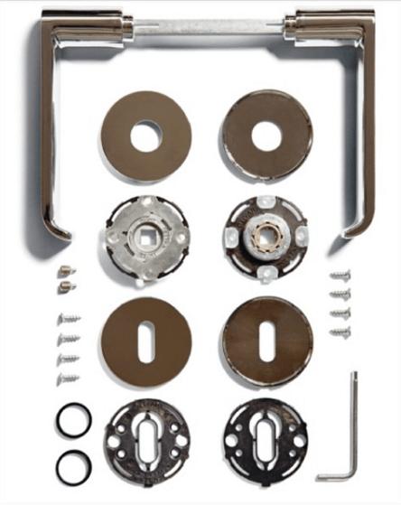 com'è fatta una maniglia componenti maniglie per porte olivari fusital vallivalli colombo design