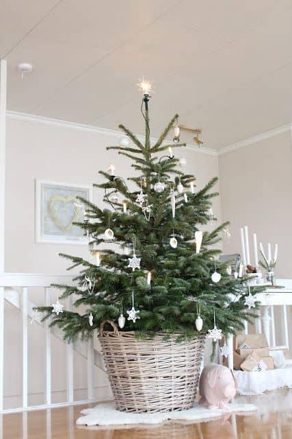 Decorazioni shabby chic natale 2015 idee per la casa addobbi natalizi bianco - Idee shabby chic per la casa ...