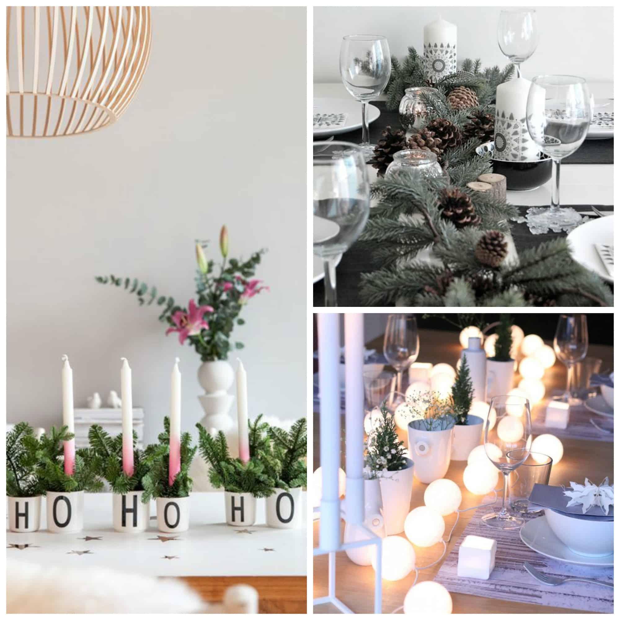 Natale fai da te 10 idee last minute decori per la casa e idee regalo tuttoferramenta blog - Centro tavola natalizio fai da te ...