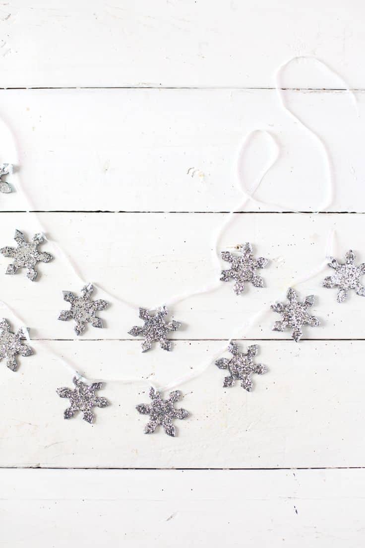 Ghirlanda fiocchi di neve