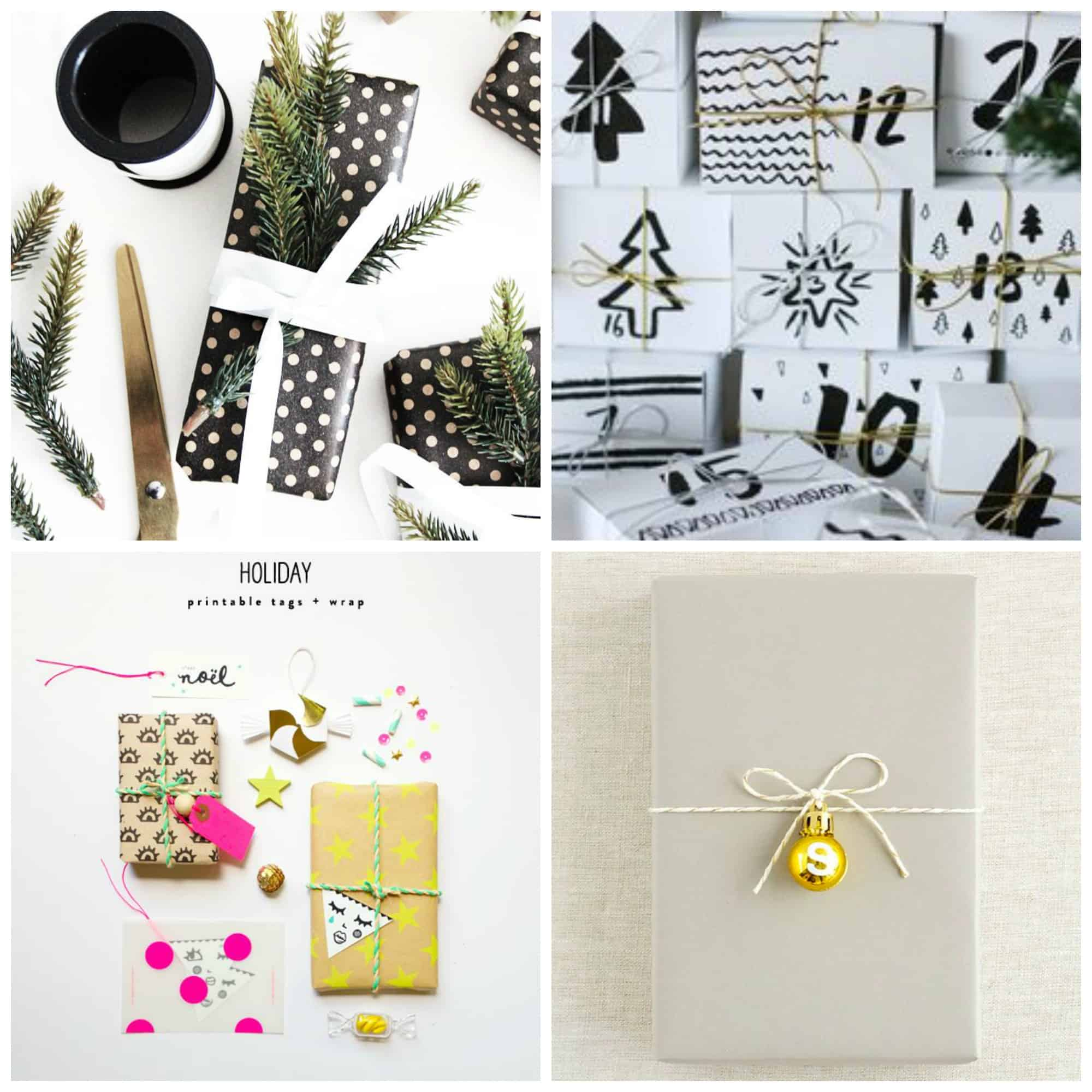 Idee per decorare i pacchetti di Natale