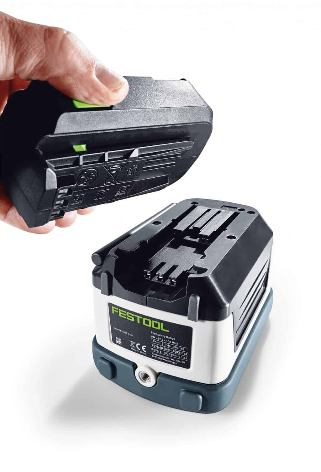 Batteria per Festool Radio SYSROCK BR 10