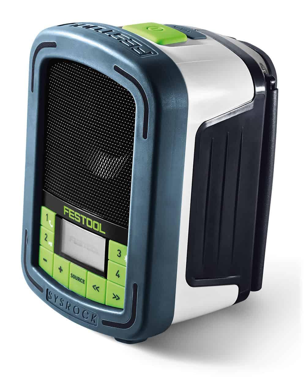 Radio da cantiere BR 10 Festool SYSROCK Tuttoferramenta