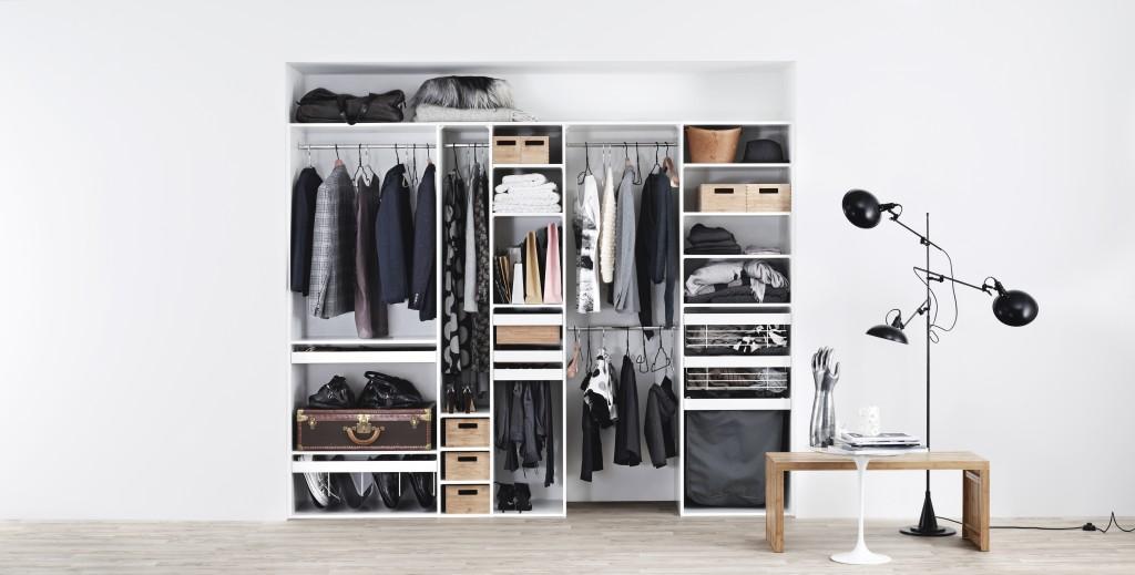 Cabina armadio fai da te idee per ordinare vestiti e scarpe - Idee armadio camera da letto ...