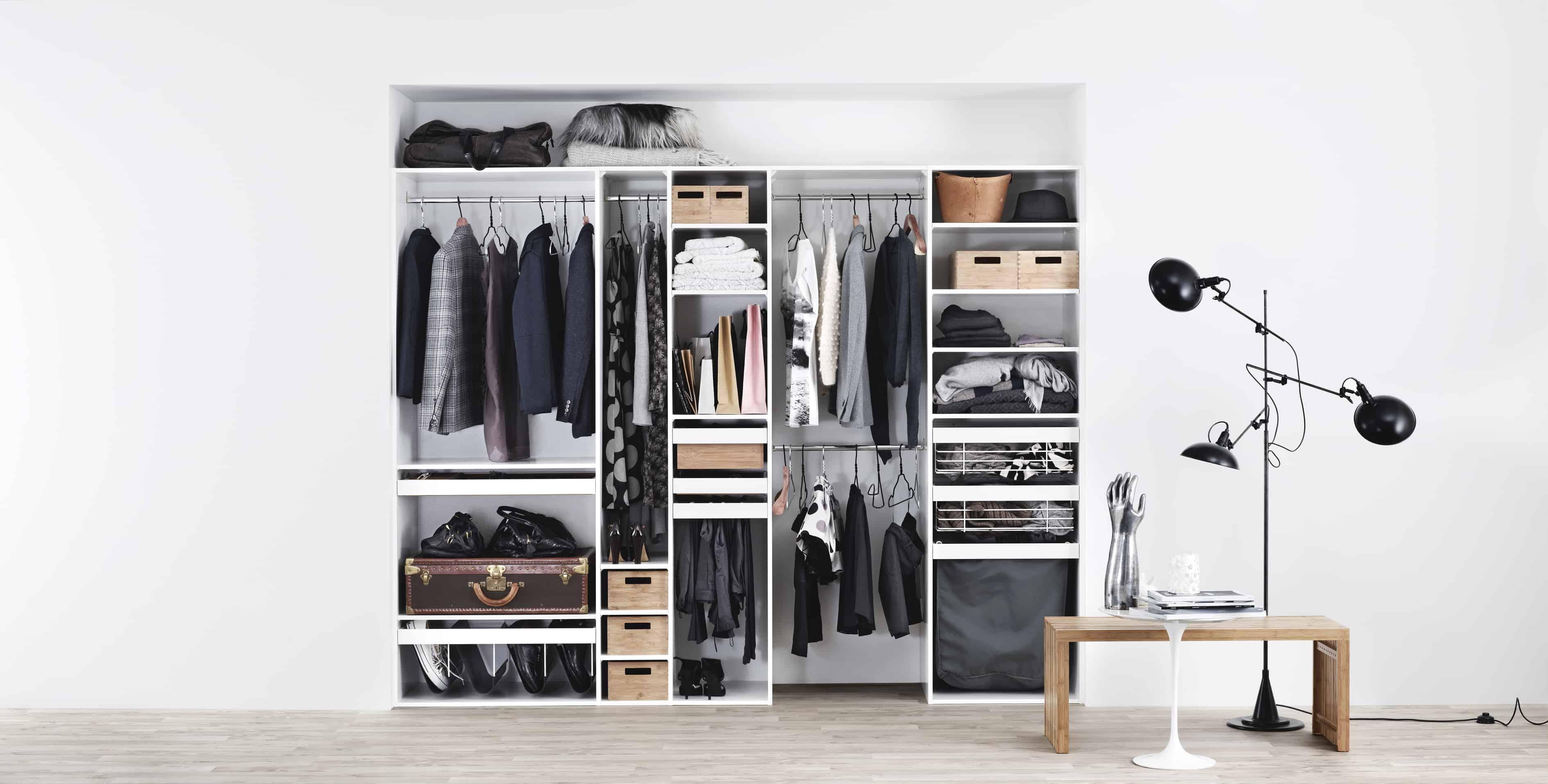 Cabina armadio fai da te idee per ordinare vestiti e scarpe for Idee fai da te per arredare la casa