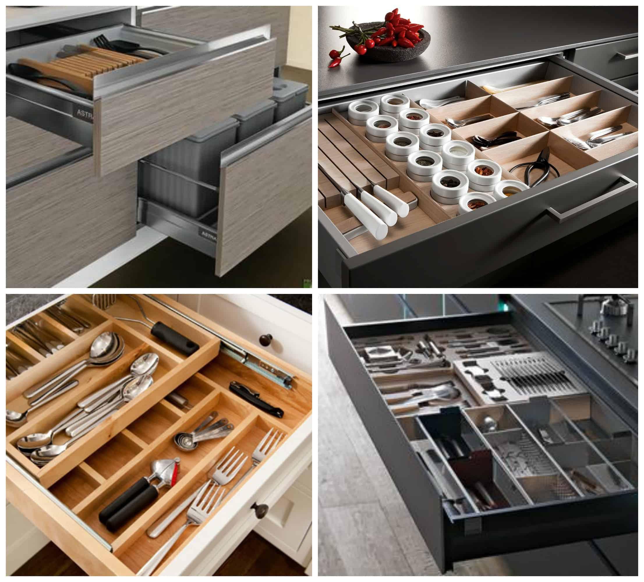 I cassetti della cucina