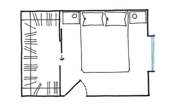 Cabina armadio fai da te idee per ordinare vestiti e scarpe for Misure cabina armadio