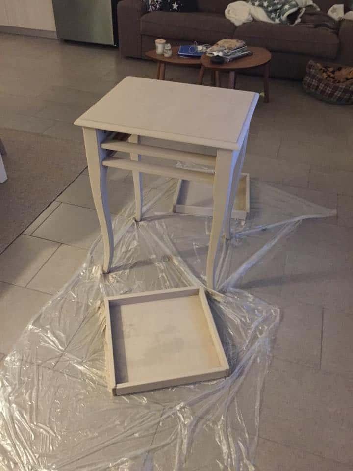 2-dipingere tavolino classico in stile shabby chic fai da te idee tuttoferramenta