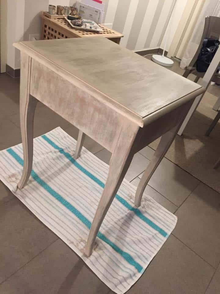 4 - tavolino shabby chic per il salotto come realizzarlo fai da te