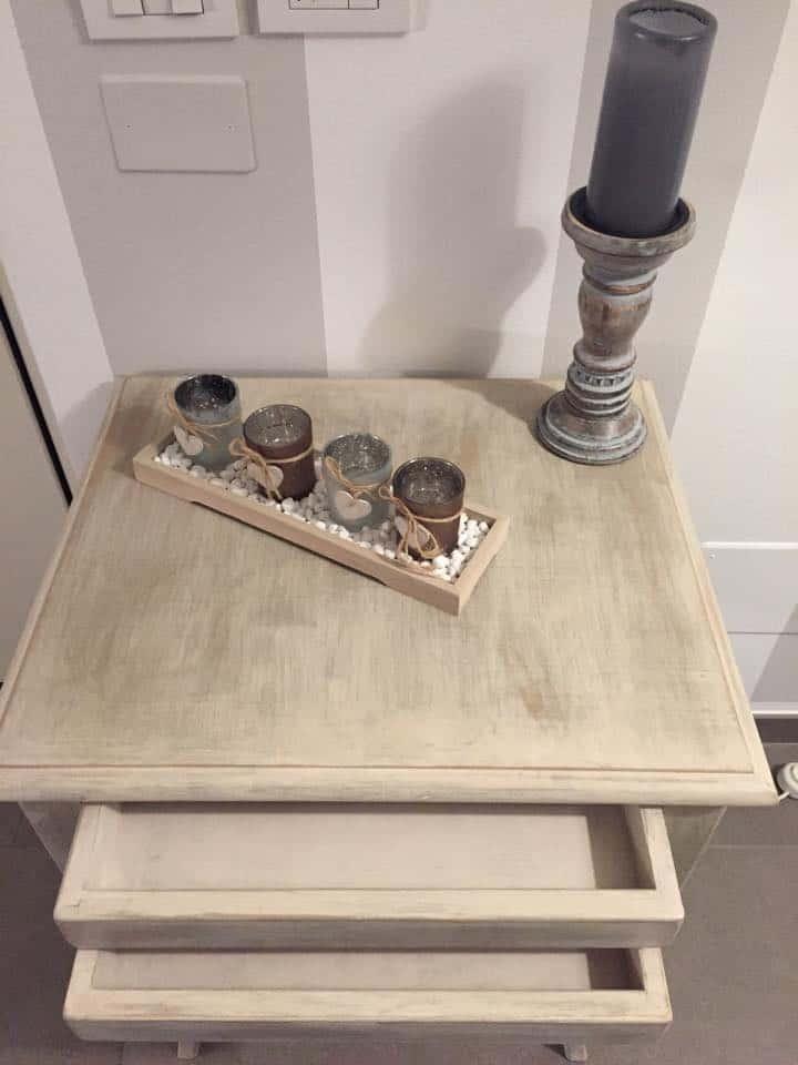 Passione per il fai da te tavolino shabby chic - Costruire tavolino ...
