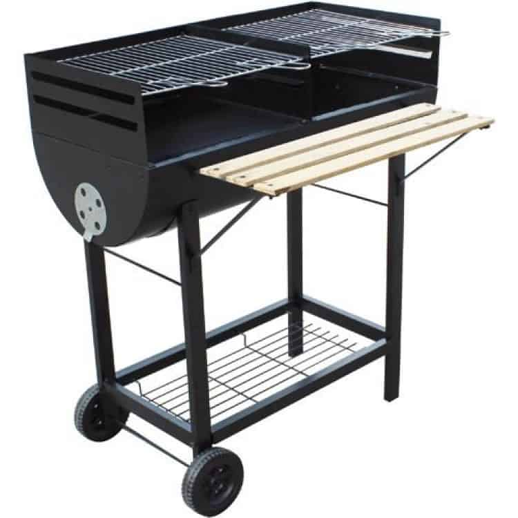 Barbecue Wichita a carbonella 98x55x93H cm PAPILLON