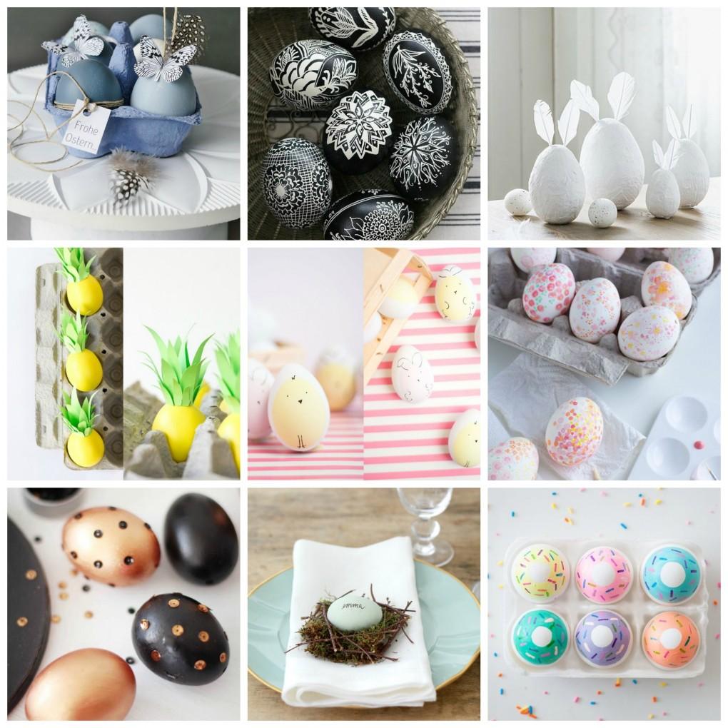 10 idee fai da te per decorare le uova di pasqua for Idee per decorare