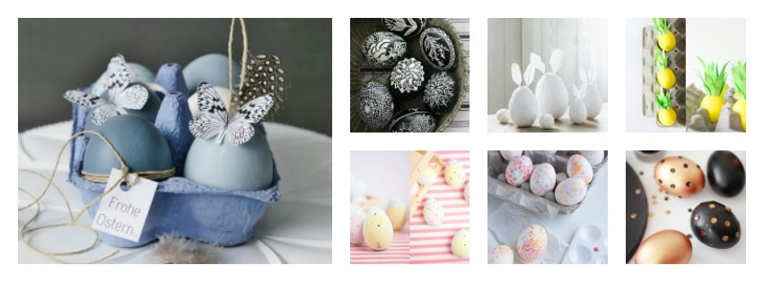 10 idee Fai da te per decorare le Uova di Pasqua!