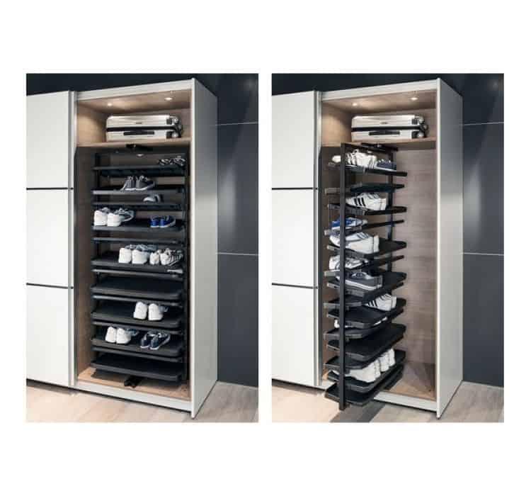 Cabina armadio fai da te idee per ordinare vestiti e scarpe - Porta cabina armadio fai da te ...