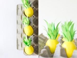 Uova di Pasqua Ananas