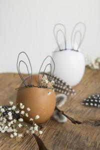 Uova di Pasqua con le orecchie