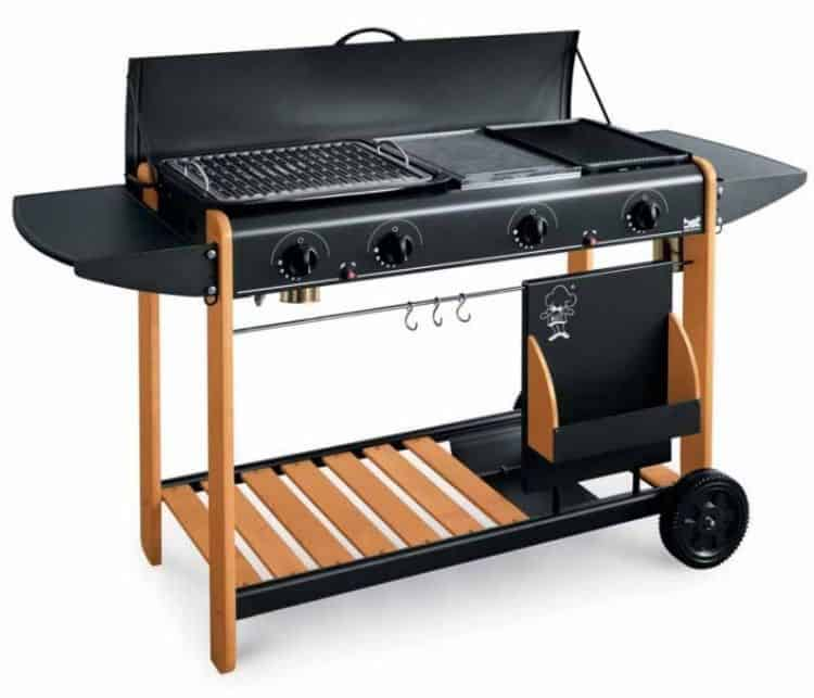 barbecue a gas grigriare duro tuttoferramenta grill bbq arredamento giardino papillon