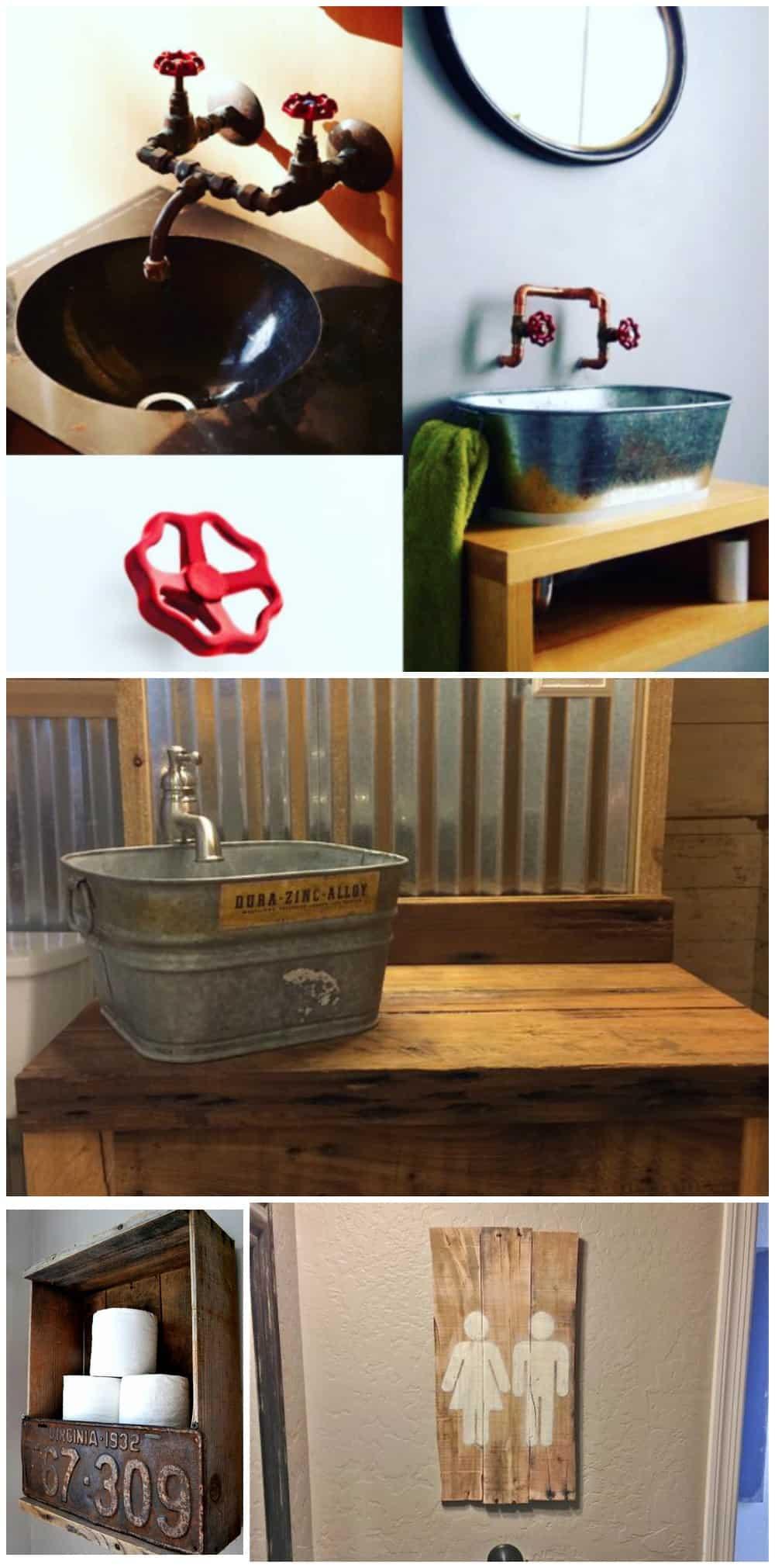 bagno industriale moderno arredobagno di design tuttoferramenta