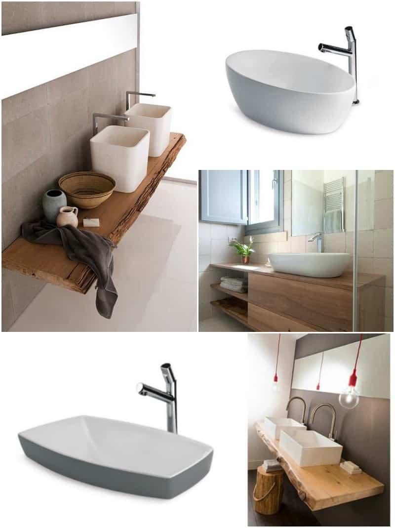 Ristrutturare il bagno con stile arredobagno online - Lavelli da appoggio per bagno ...