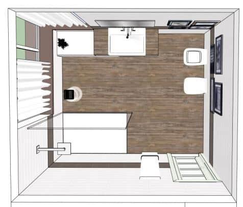 Rinnovare e ristrutturare il bagno in stile moderno e di design ...