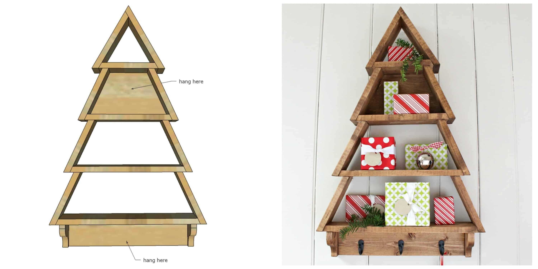 Collage Albero di Natale