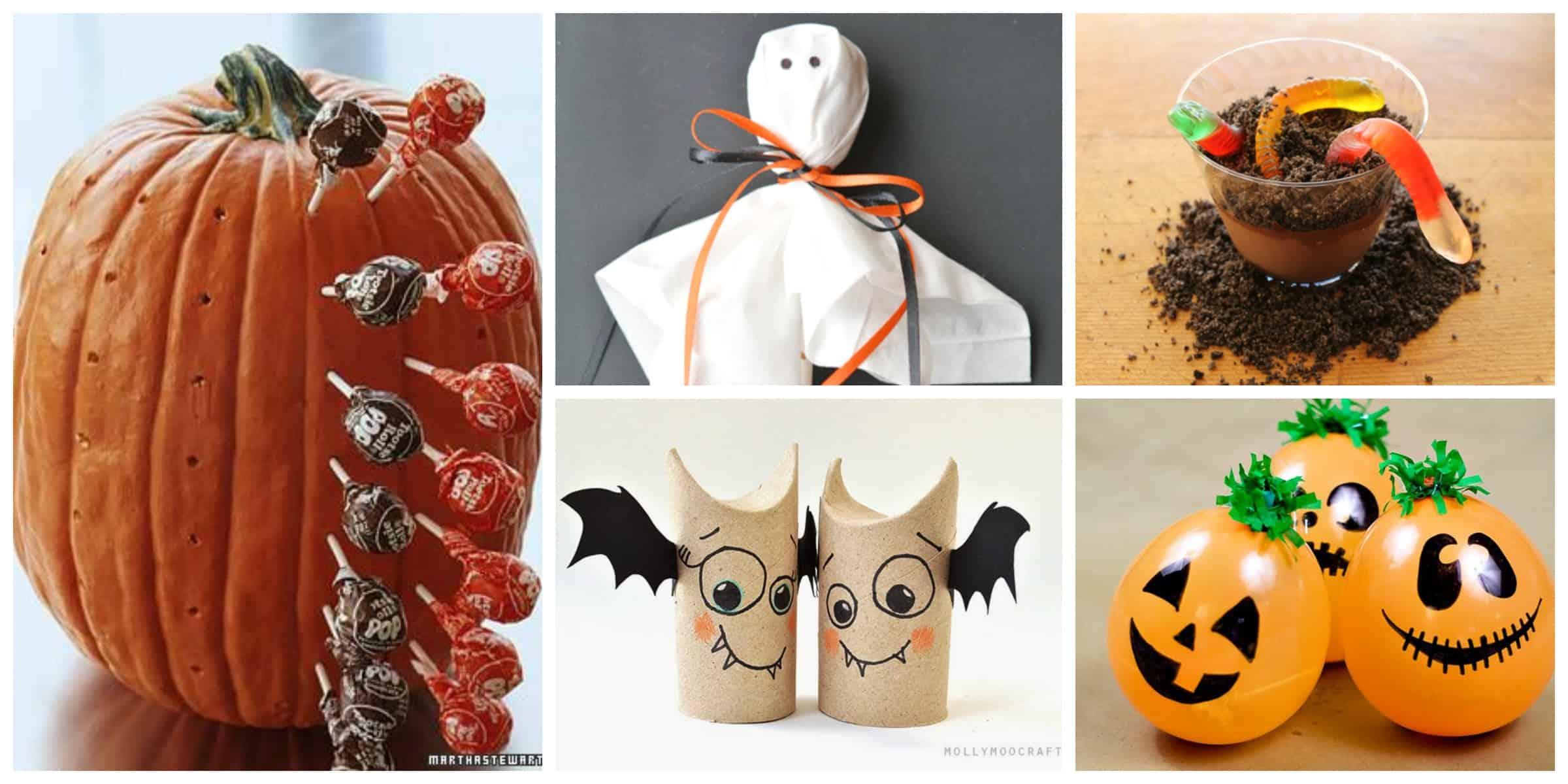 Festa halloween decorazioni fai da te