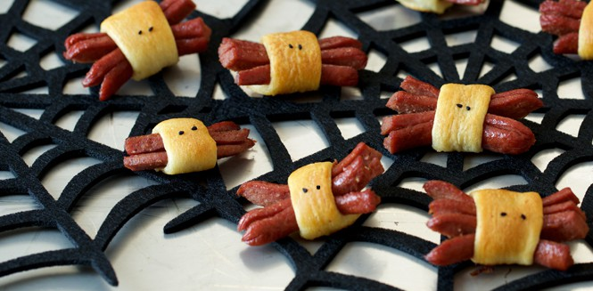hot-dog spiders