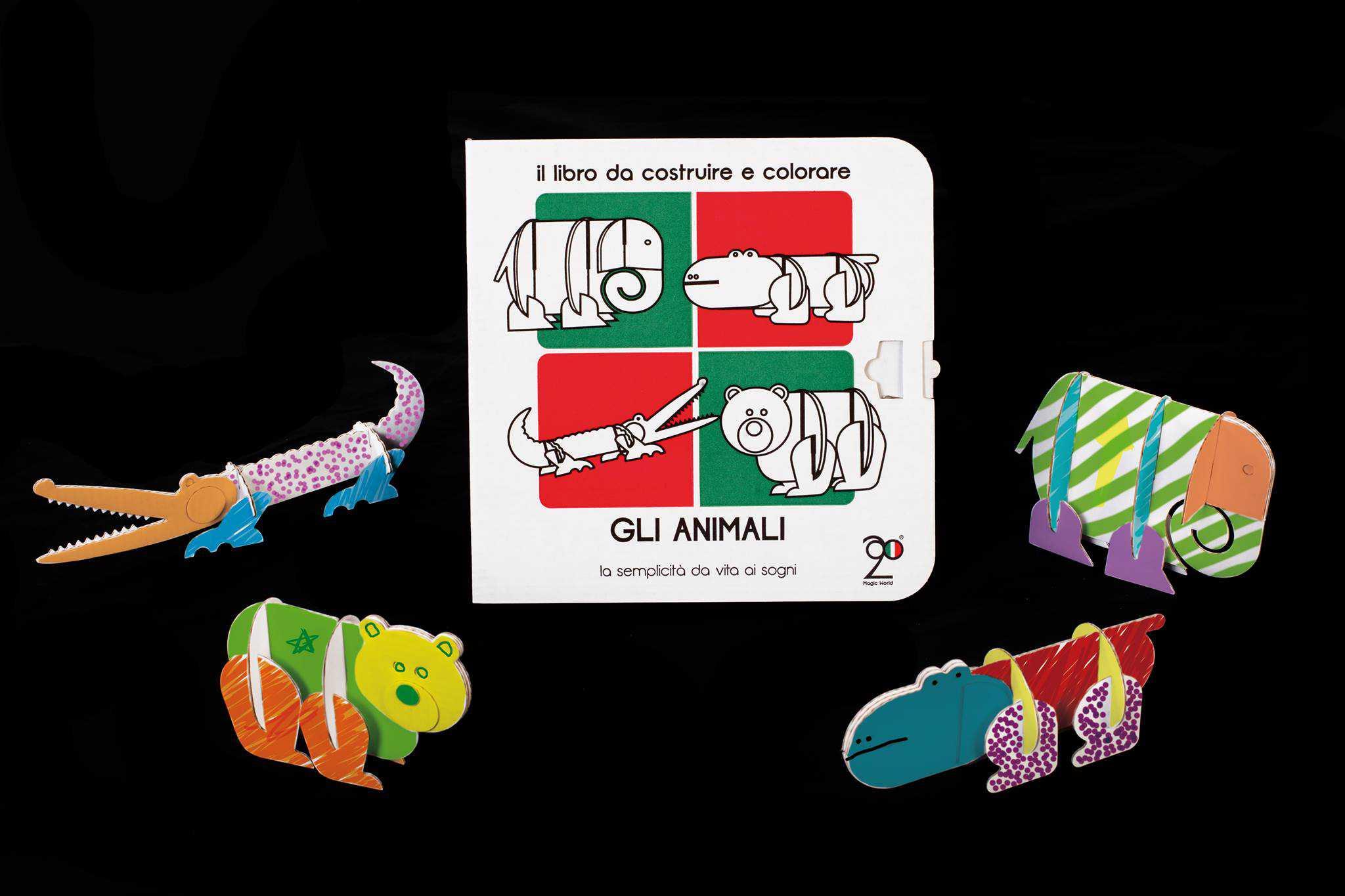 Giochi di Cartone per Bambini - La fattoria degli animali di cartone