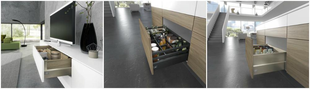 cassetti per cucina