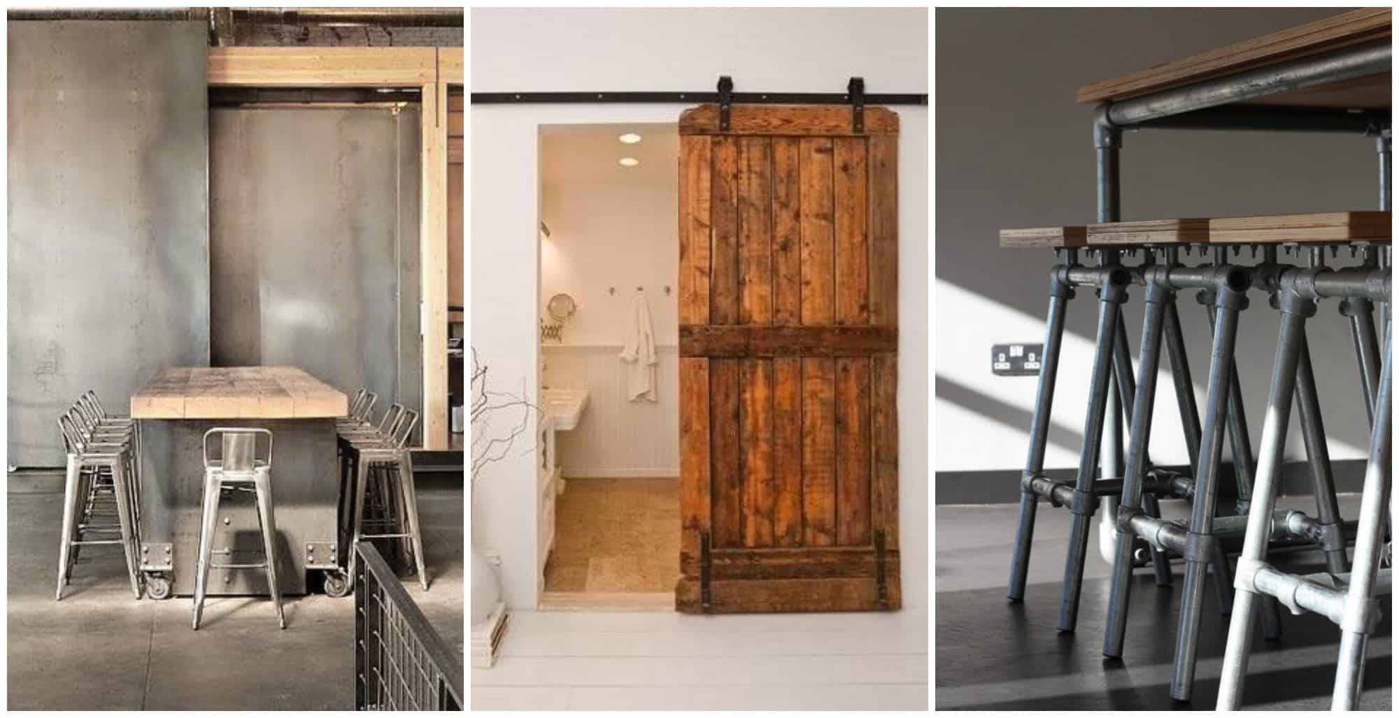 Barn Doors e una casa in stile industriale!