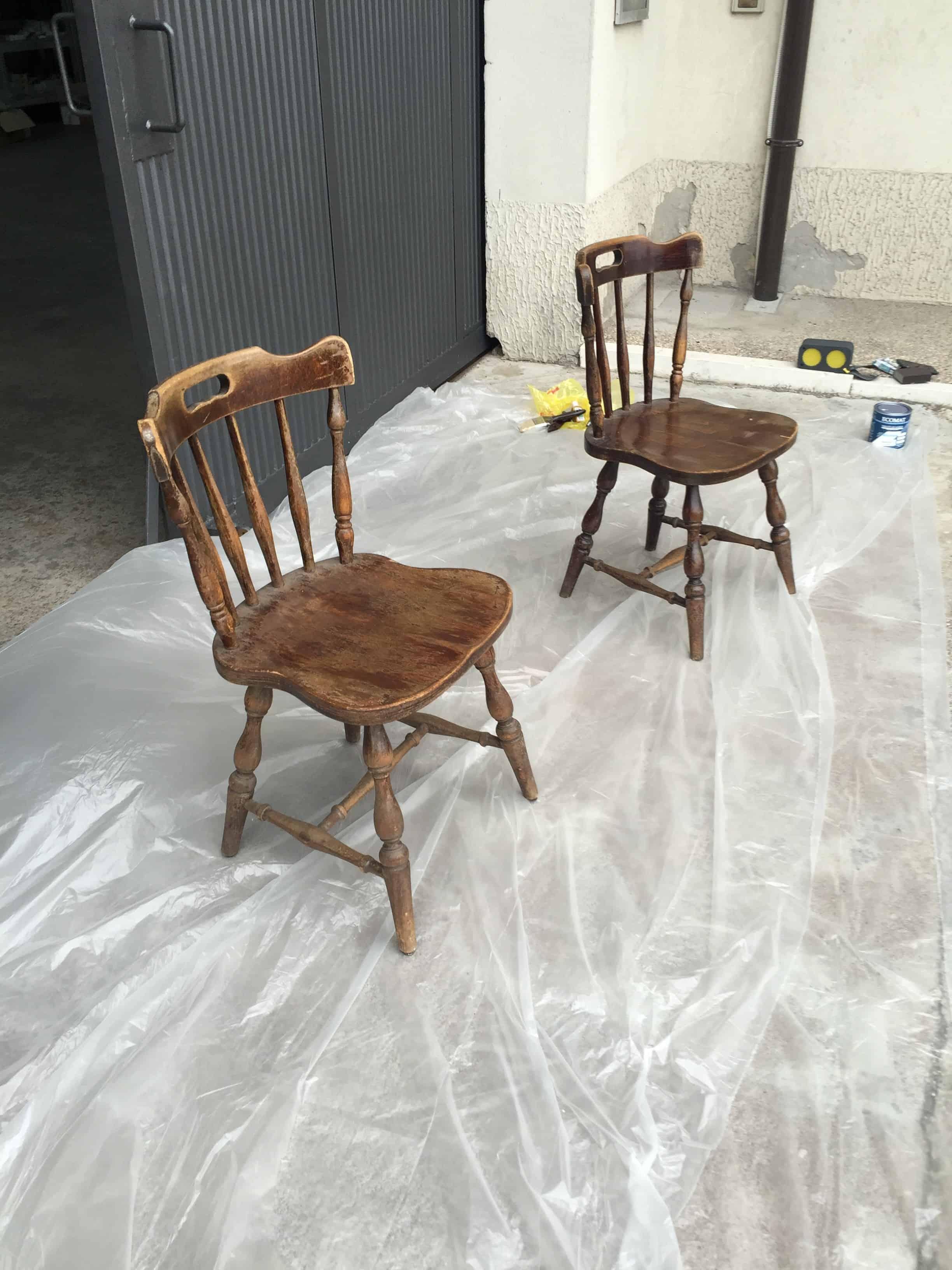 Sedie Diy recupero sedie