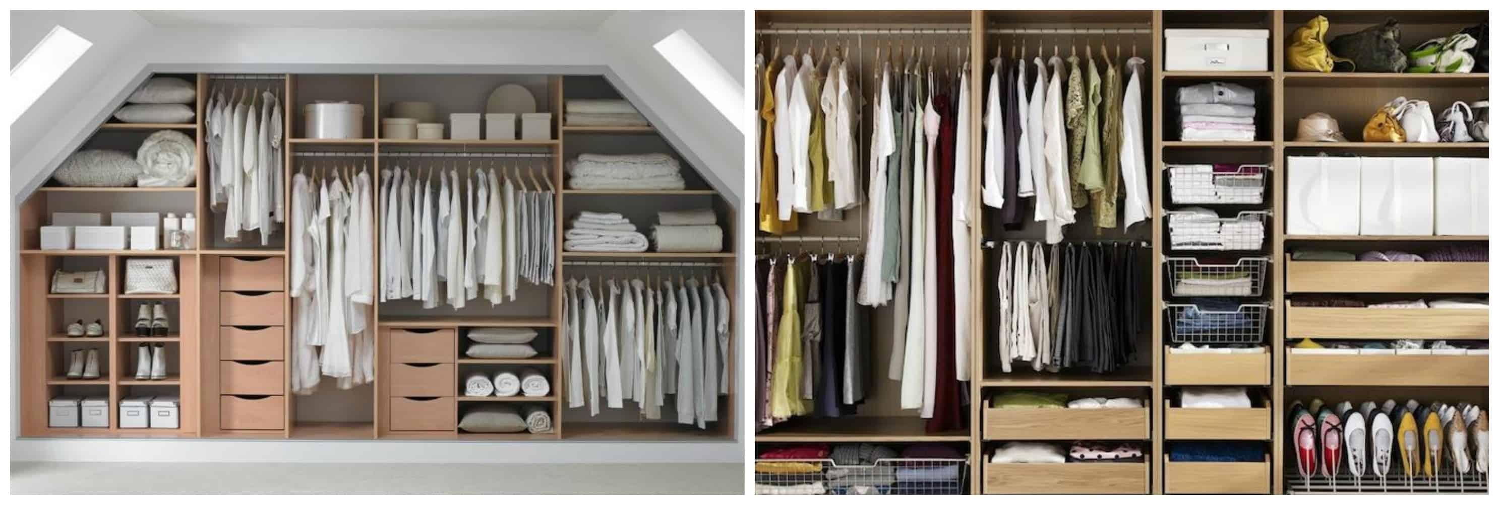 Come realizzare la cabina armadio perfetta con il design - Portacravatte per armadi ...