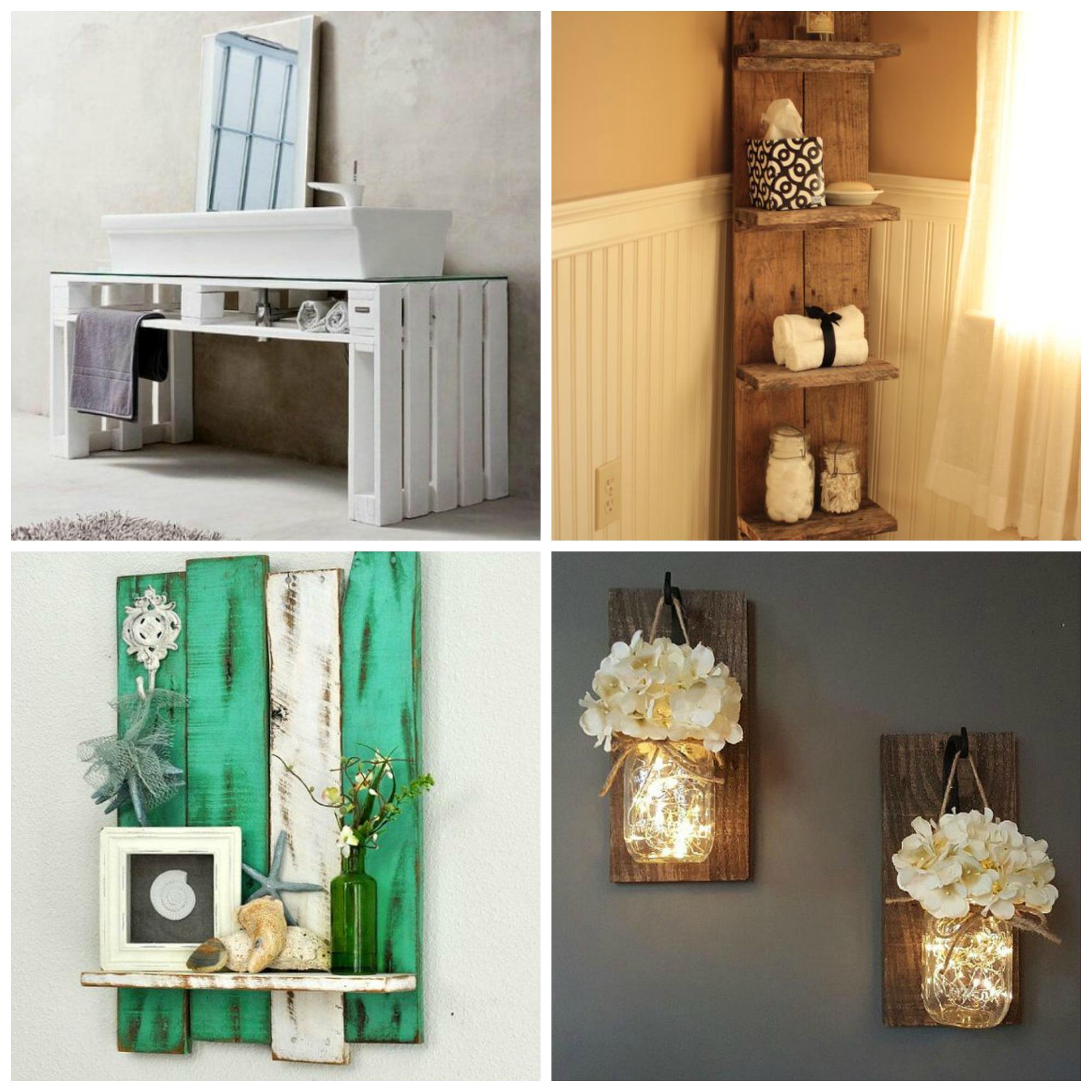 Pallet idee creative per arredare la casa al mare - Idee per imbiancare casa ...