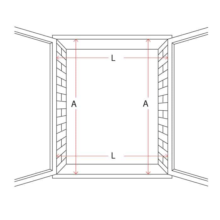 dimensione in luce finestra per zanzariera su misura tuttoferramenta mv line zanzariere online