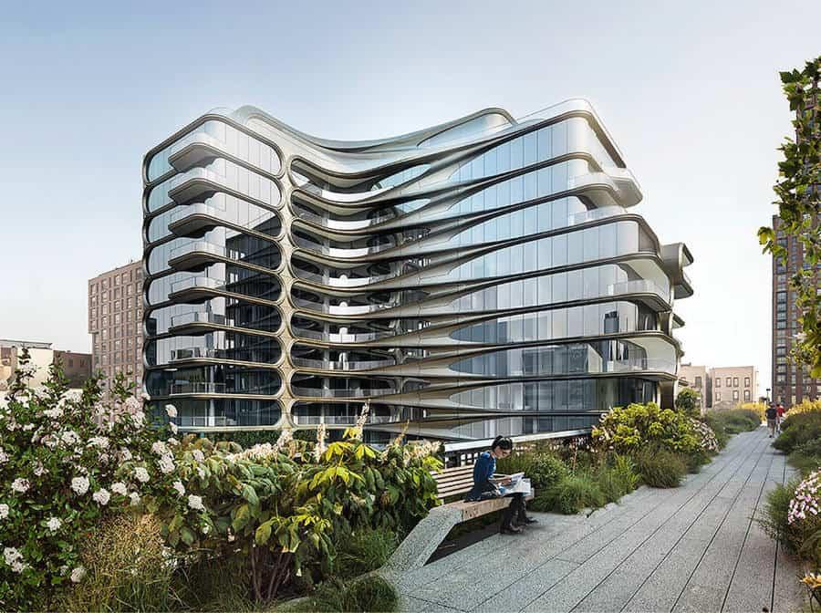 Edificio Zaha Hadid