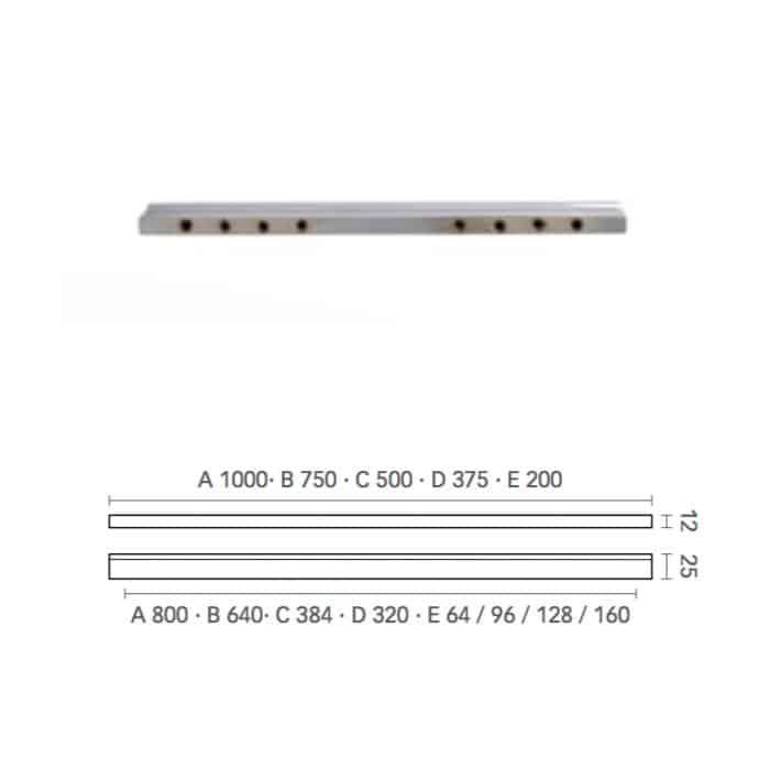 maniglia mital 3990 per mobile