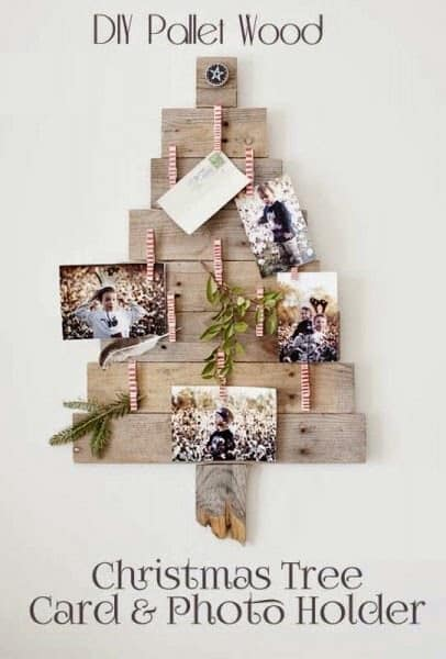 albero pallet foto