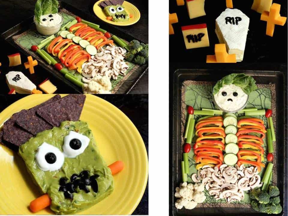 VEGAN BODY  Se hai optato per una cenetta vegan a base di verdure questa decorazione molto simpatica fa al caso tuo!