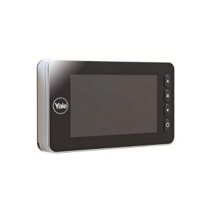 Auto Imaging Yale Dotato di telecamera a infrarossi per la visione notturna e di sensore di movimento che scatta foto e registra video.Comprende la funzione di salvataggio delle immagini e dei video con data e ora direttamente su scheda SD fornita.
