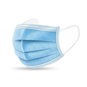 Mascherine chirurgiche protettive filtrante FFP1, tessuto idrorepellente e traspirante, monouso